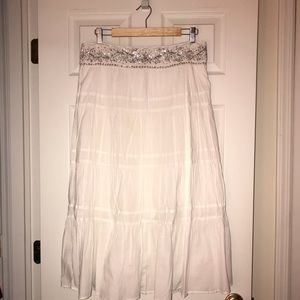 Old Navy Boho Skirt with Sequined Detail at Waist